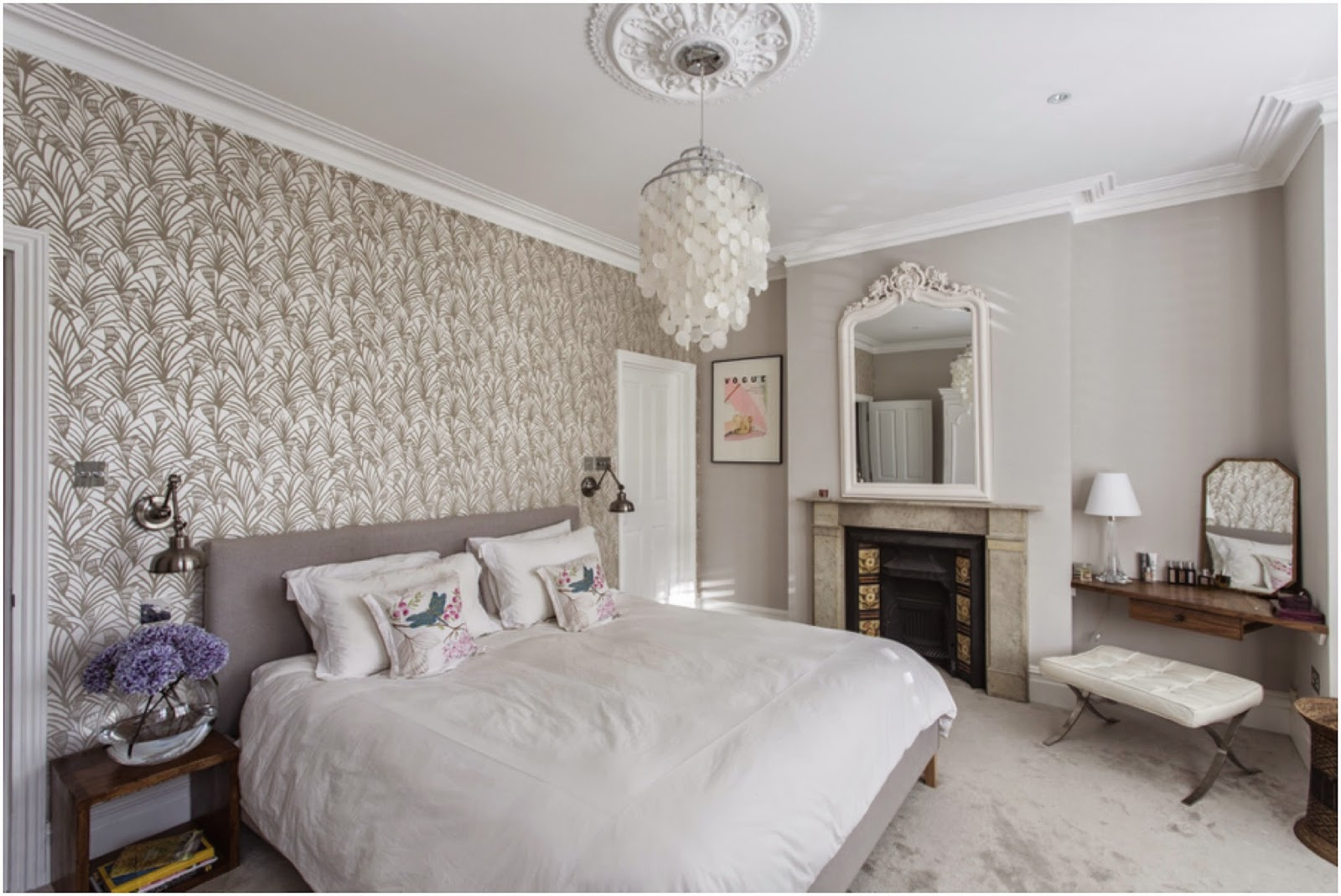Master bedroom victorian terrace in london laura butler for Bedroom ideas victorian terrace