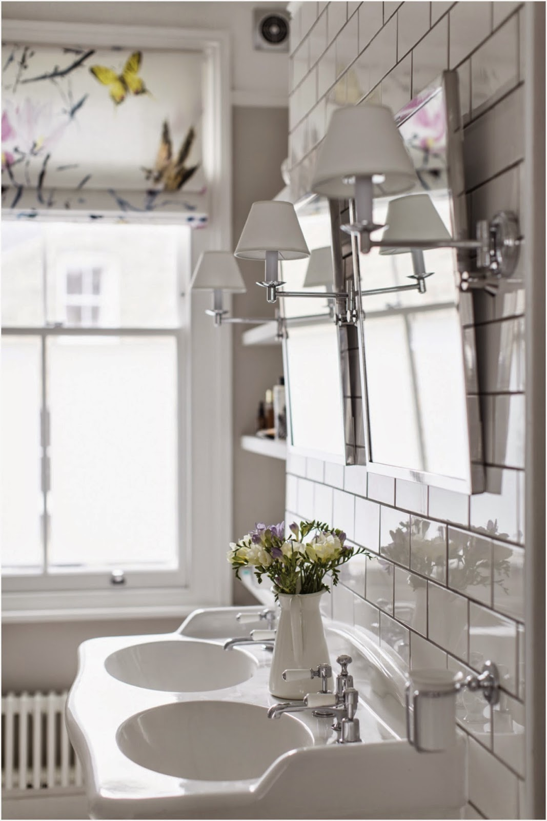 Master Bathroom, Victorian Terrace in London – Laura Butler-Madden