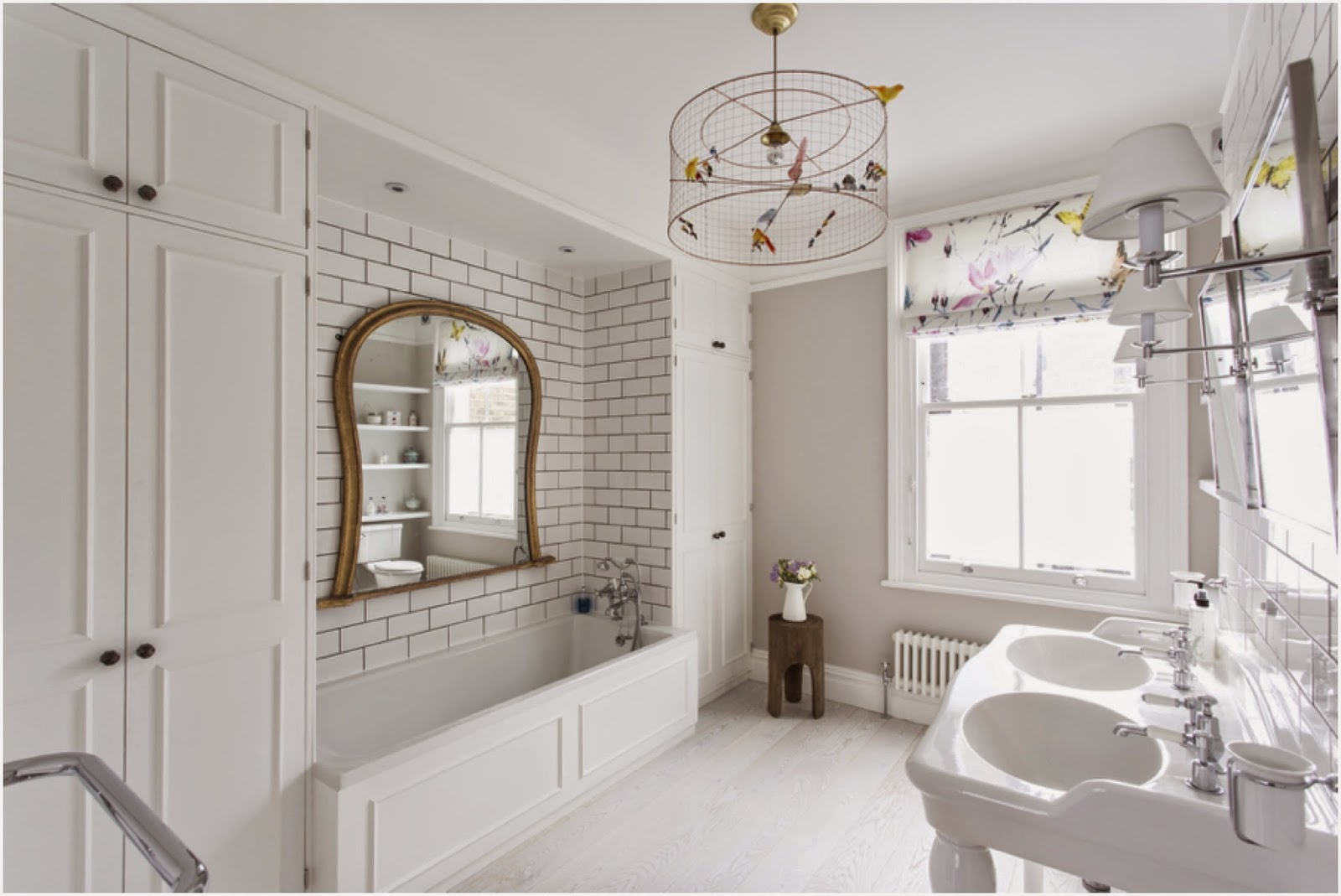 Master bathroom victorian terrace in london laura for Bathroom ideas london