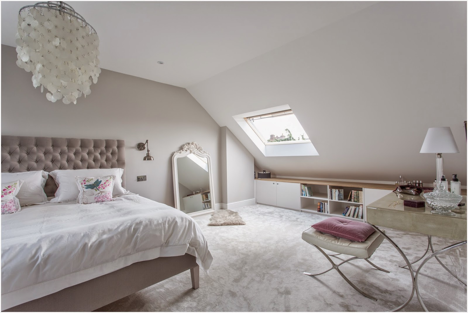 Loft Master Bedroom In South West London Laura Butler Madden