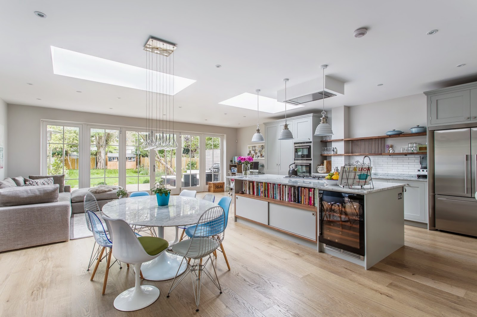Kitchen design south west london home laura butler madden for Kitchen design london